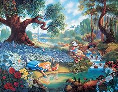 Thomas Kinkade Disney | Thomas Kinkade, Disney,