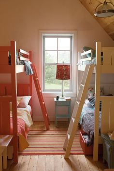 For the girls' bedroom... Shutter Bunk Bed   Bunk Beds   Maine Cottage