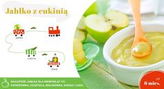 jabłko z cukinią Cantaloupe, Food And Drink, Snacks, Fruit, Drinks, Baby, Tapas Food, Drinking, Appetizers
