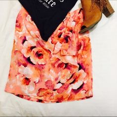 Spotted while shopping on Poshmark: ☀️WATERCOLOR TIED SKIRT☀️! #poshmark #fashion #shopping #style #ASOS #Dresses & Skirts