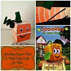 Spookley the Square Pumpkin: Homeschool Lesson Plan