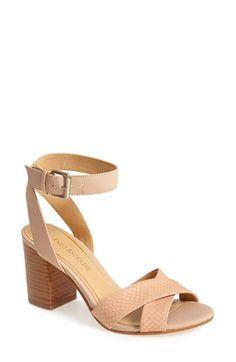 Enzo Angiolini 'Gabele' Block Heel Sandal (Women) available at #Nordstrom in light blue