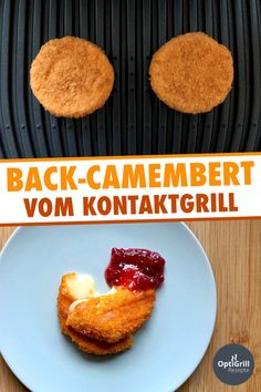 Back-Camembert grillen Recipes food and drinks names Good Healthy Recipes, Great Recipes, Sandwich Recipes, Snack Recipes, Cold Sandwiches, Grilled Seafood, Seafood Boil, Vegetable Drinks, Grilled Vegetables