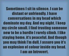 """introvertunites: """"If you're an introvert, follow @introvertunites. """""""