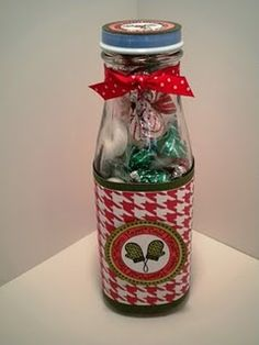 up-cycled Starbuck's Frap bottle