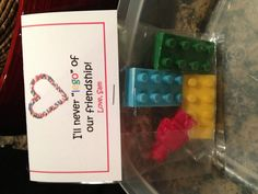Sam's Lego Valentine