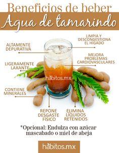¡Beneficios de beber agua de tamarindo!