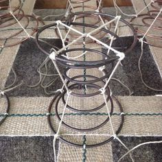 Lashing Down Springs Individually For My Victorian Armchair Back Traditionalupholstery Thec Upholstery Webbing