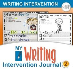 Writing Intervention II by Check In with Mrs G | TpT Resources for teaching special education Teaching Special Education, Student Teaching, Prewriting Skills, Play Based Learning, Pre Writing, Word Families, Teacher Resources, Writing Process, Rock Stars