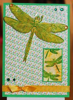 Tinas kreative Seite: Libelle mit Mini-MOO