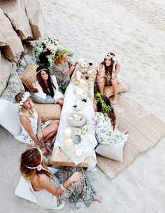 something about bohemian style makes me think of mermaids