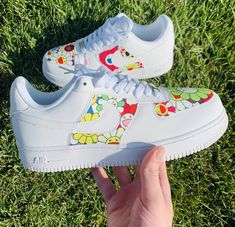 Custom Air Force 1 featuring a teal bandana. All custom sneakers are made to order, please allow weeks for your item to be shipped. Shipping time might be less or more depending on volume. All sales are final, no refunds, returns or exchanges. Air Force One Shoes, Nike Air Force Ones, Custom Painted Shoes, Custom Shoes, Custom Air Force 1, Nike Air Shoes, Women's Shoes, Aesthetic Shoes, Custom Sneakers