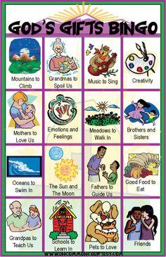 Bingo Games for Christians on UnCommonCourtesy.com