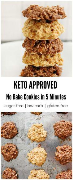 keto no bake cookies #healthydrinks