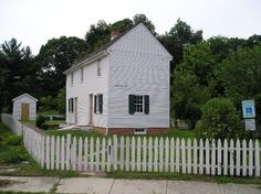 Peter Mott House ... a stop on the Underground Railroad, in Lawnside, NJ