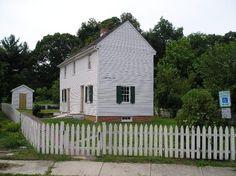 Peter Mott House ... a stop on the Underground Railroad, in Lawnside, NJ