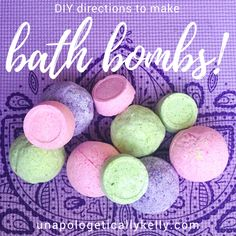 Up next in the DIY Valentine's Day Gift Series... Bath Bombs!! Who does't love these?! They are so much fun to make, are easy crafts to do with children, and super easy to creatively wrap up and give as gifts to friends, coworkers, neighbors, your boo, etc.!