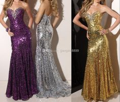 Cheap 2014 Evening Gowns - Discount 2014 New Sweetheart Long Prom Dresses Zipper Sequin Fabric Party Evening Gowns Beads a Line Sheath Pageant Dresses 2013 Online with $158.8/Piece | DHgate