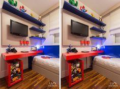 Quarto Infantil temático para Meninos projeto de arquitetura para quarto infantil