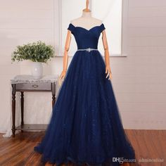 Prom Dresses Under 50 Sexy Off Shoulder Plus Size Prom Gowns Pleated Tulle Sequined Dress For Prom Party Women Evening Night Dresses Vestidos De Formatura Lace Gowns From Adminonline, $114.05| Dhgate.Com