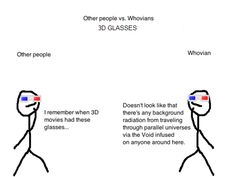 Other people VS. Whovians