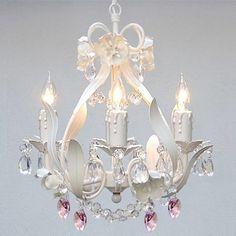 Found it at Wayfair - Garden 4 Light Crystal Chandelier