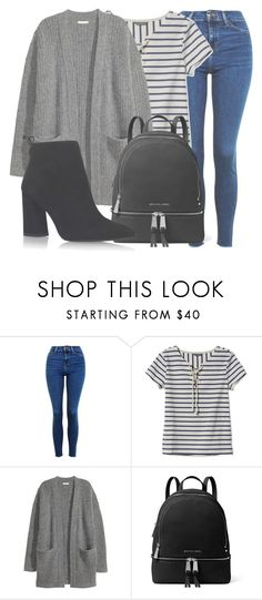 """""""Outfit #1493"""" by lauraandrade98 on Polyvore featuring moda, Topshop, L.L.Bean, MICHAEL Michael Kors y Stuart Weitzman"""