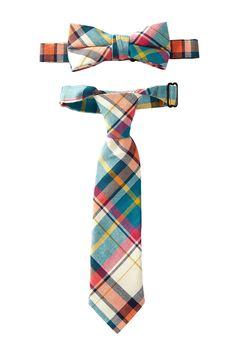 Tie & Bowtie Set (Baby, Toddler Boy & Little Boy) by Troy James on @nordstrom_rack