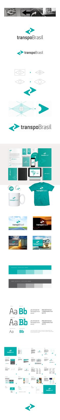 transpoBrasil is a company specialised in the development of solutions for transport and logistics.The symbol was inspired by the geometric shapes of the Brazilian flag. These forms were transformed into two arrows, which represent concepts of transport…