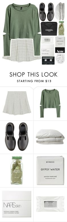 """LIKE TO JOIN NEW TAGLIST"" by purplesequin16 ❤ liked on Polyvore featuring H&M, Dr. Martens, Nimbus, Chanel, Byredo, NARS Cosmetics, Stila, Brinkhaus and CASSETTE"