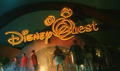 DisneyQuest Indoor Interactive theme park is a one-of-kind gaming experience in the Downtown Disney area. Discover 5 floors fueled by electronic Disney innovation and imagination, including virtual reality, 3D encounters and classic video games from the past.