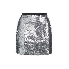 Topshop Dazzling Sequin Mini Skirt (€53) ❤ liked on Polyvore featuring skirts, mini skirts, silver, mini skirt, sequin mini skirt, sparkle skirts, sequin skirt and short mini skirts