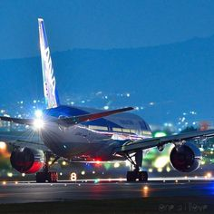 Bight Flight - ANA B767 - by @one21love