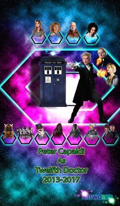 Twelfth Doctor Card 2013-2017 by vvjosephvv.deviantart.com on @DeviantArt