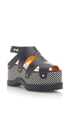 Leather Platform Sandals by PROENZA SCHOULER for Preorder on Moda Operandi