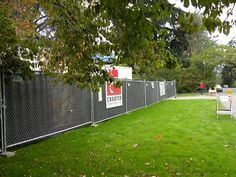 privacy fence fabric construction site