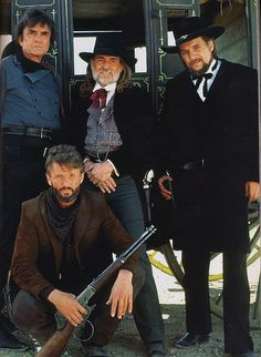 Johnny Cash, Willie Nelson, Kris Kristofferson, & Waylon Jennings aka The Highwaymen