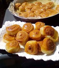 Baklava Recipe, Bread Recipes, Pudding, Desserts, Food, Tailgate Desserts, Deserts, Custard Pudding, Essen