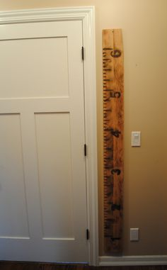 Reclaimed Wood Growth Chart by ReclaimedState on Etsy, $95.00