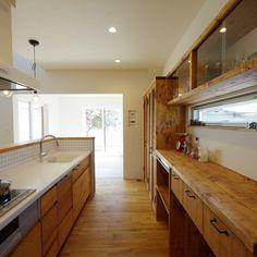 キッチン 造作棚