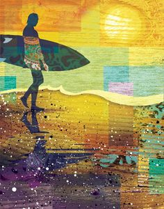 An interesting selection of surfy illustrations from Josh Hoye.