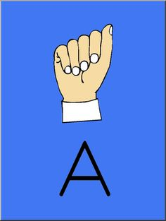 Clip Art - American Sign Language Posters and Worksheets