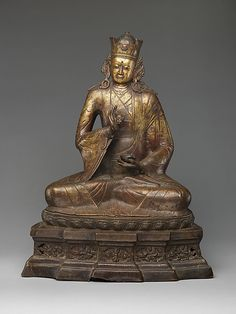 This portrait of Padmasambhava is one of the earliest known effigies of the Buddhist saint.