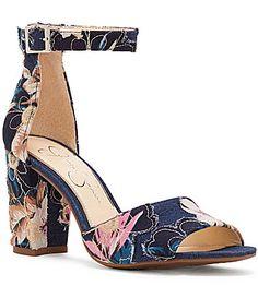 a5906ff8db8 Jessica Simpson Sherron Floral Sandals. Dillard s