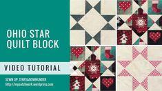 Video tutorial: Ohio star quilt block