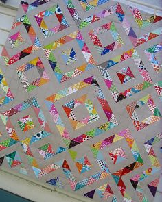 Red Pepper Quilts: All the Details. (You could also make this from a layer cake)