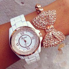 Bracelet and watch from www.gogolush.com We ship worldwide #Padgram