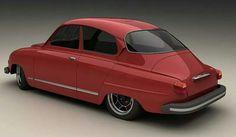 Saab 96 tuned