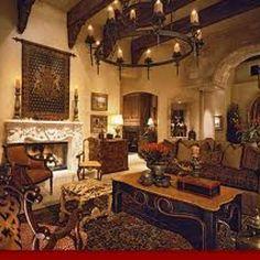 Tuscan living room. Love.