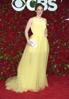 Jessie Mueller arrives at the Tony Awards at the Beacon Theatre on Sunday, June 12, 2016, in New York. (Photo by Charles Sykes/Invision/AP)